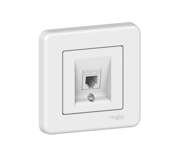 Gniazdo telefoniczne, biały LNA4100121