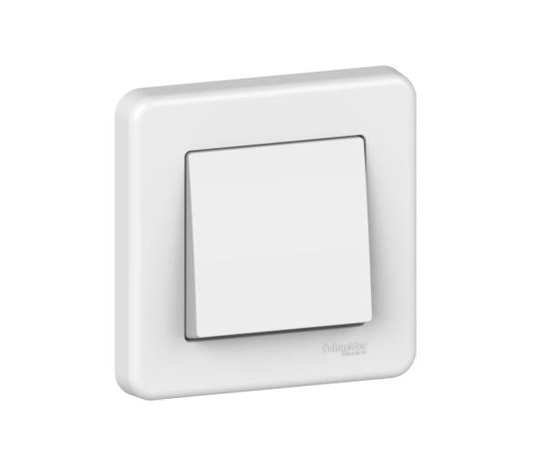 Łącznik 1-biegunowy, biały LNA0100321