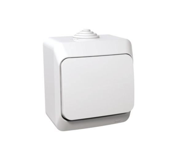 Łącznik schodowy IP44 biały WDE000560