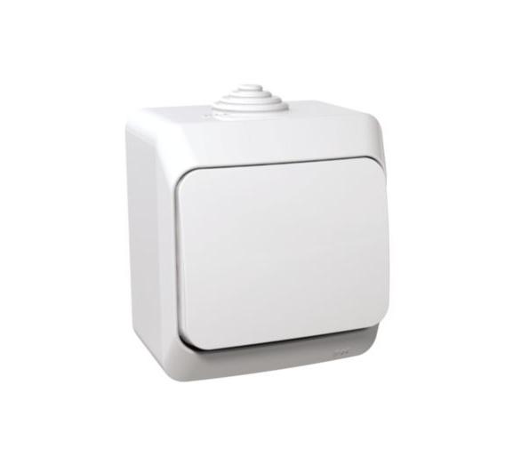 Łącznik krzyżowy IP44 biały WDE000570