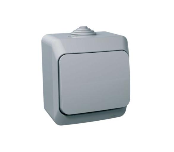 Łącznik schodowy IP44 szary WDE000660