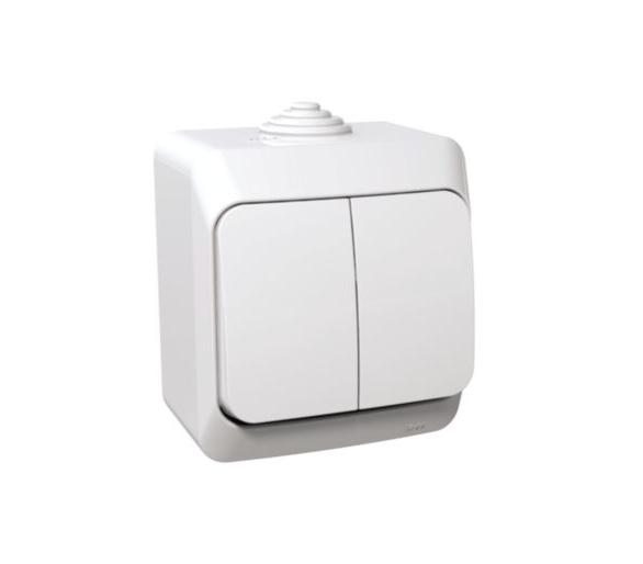 Łącznik świecznikowy IP44 biały WDE000550