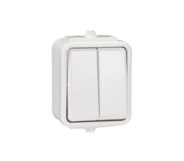 Łącznik świecznikowy IP44 biały WNT500C01