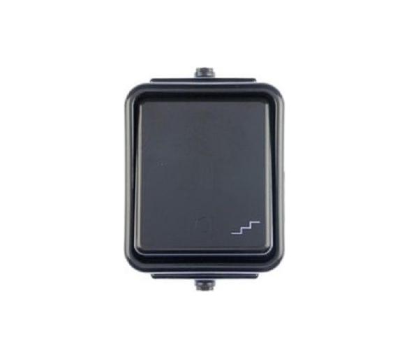 Łącznik schodowy IP44 czarny WNT600C05