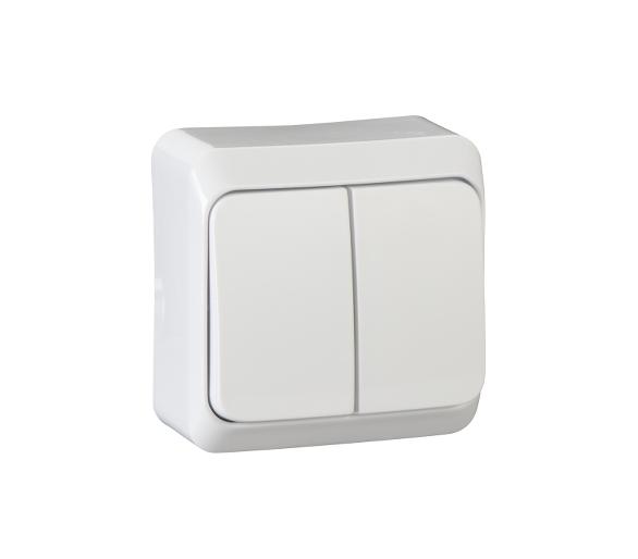 Łącznik świecznikowy biały WDE001050