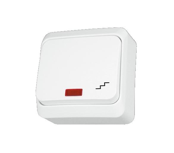 Łącznik schodowy z podświetleniem biały WDE001061