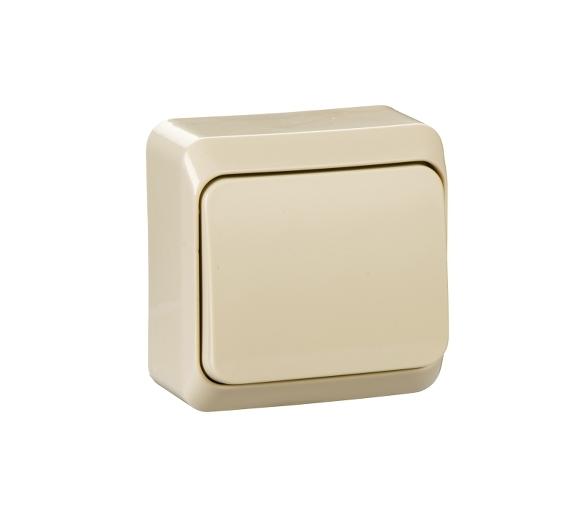 Łącznik 1-biegunowy beż WDE001110