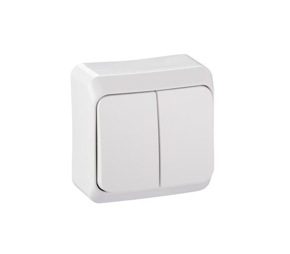Łącznik świecznikowy z podświetleniem biały WDE001051