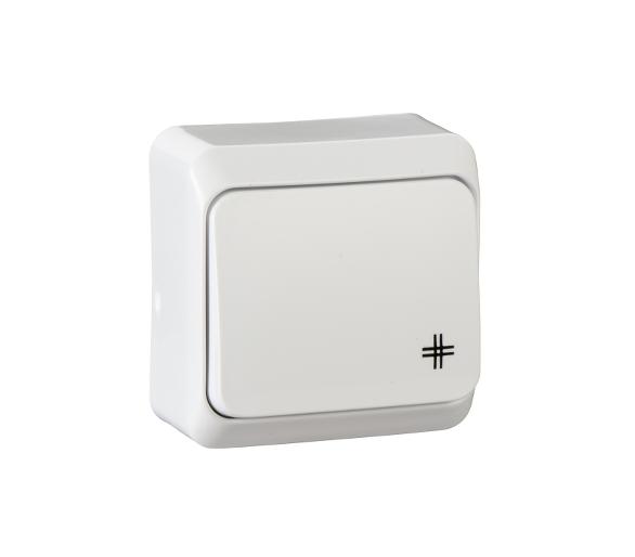 Łącznik krzyżowy biały WDE001070