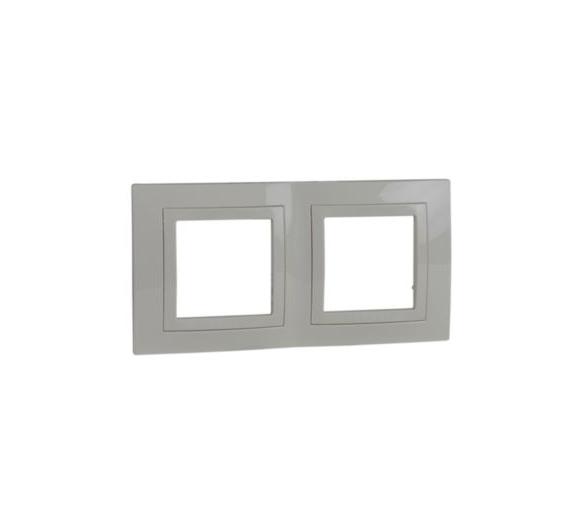 Basic, ramka 2-krotna, piaskowa MGU2.004.25
