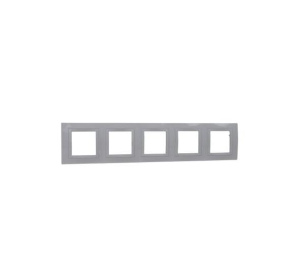 Basic Ramka 5-krotna biały MGU2.010.18