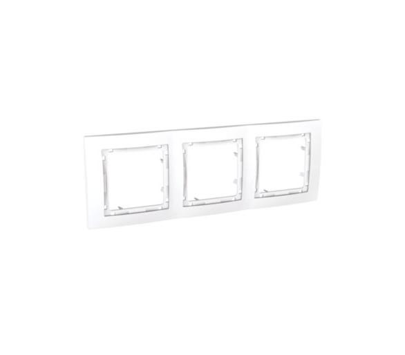 Colors Ramka 3-krotna biały MGU4.006.18