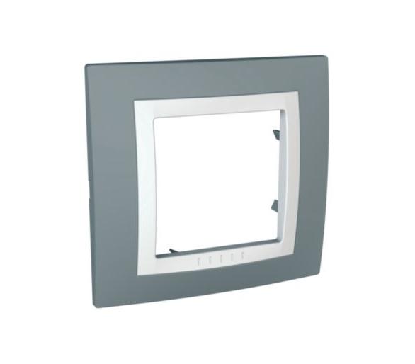 Basic, ramka 1-krotna, szara MGU2.002.858