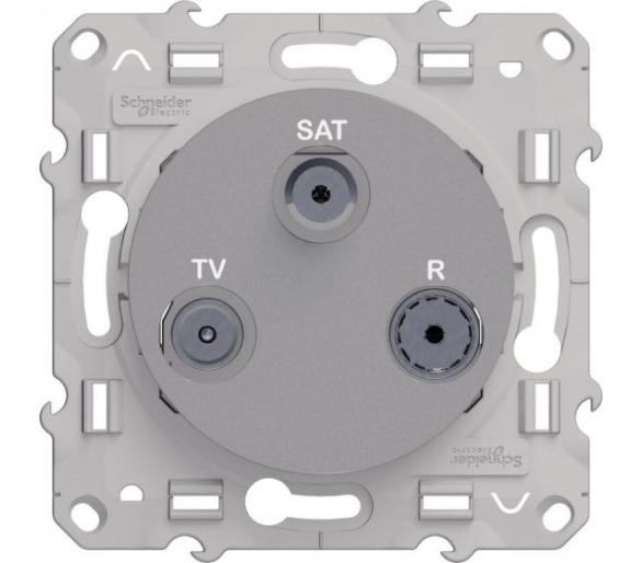 Gniazdo R/TV/SAT końcowe, aluminium S53D460