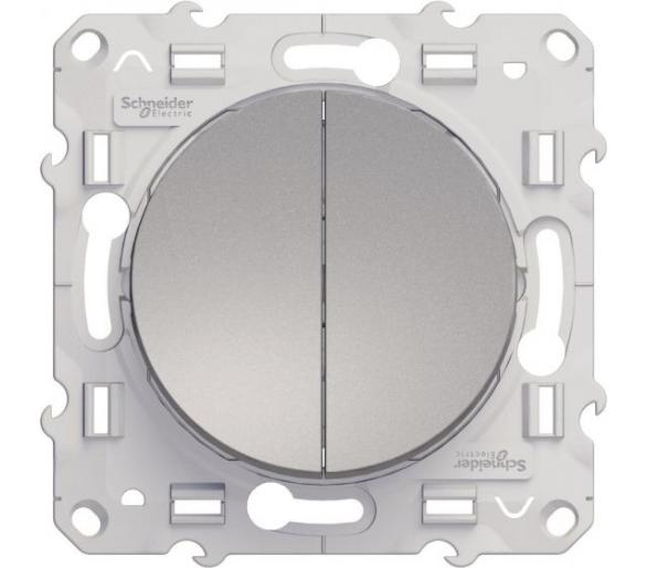 Łącznik schodowy podwójny, aluminium S53D213