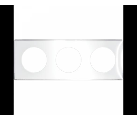 Ramka 3-krotna, przezroczysta S52P906W