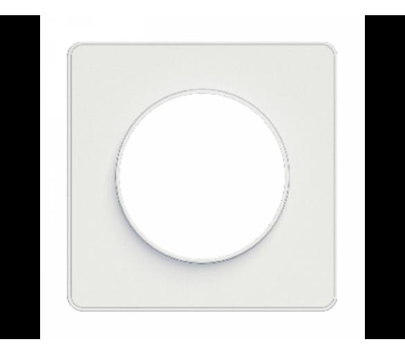 Ramka 1-krotna z zawieszką, biały S52P722