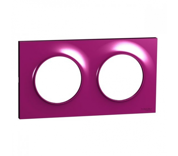 Ramka 2-krotna, purpurowy S52P704D