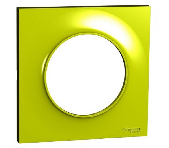 Ramka 1-krotna, zielona verde S52P702H