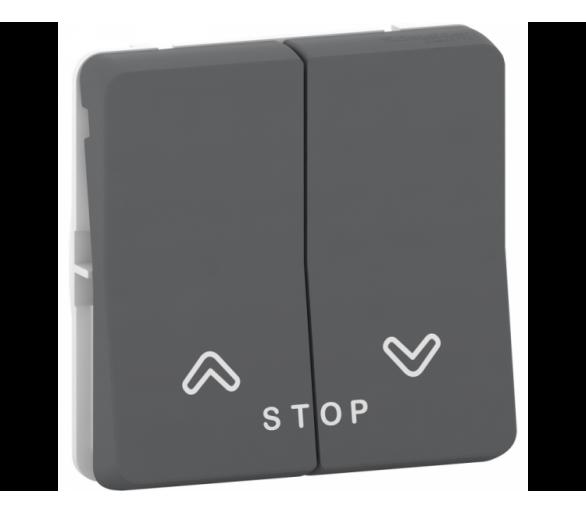 Przycisk roletowy antracyt MUR35042