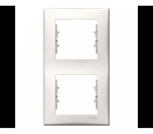Ramka 2-krotna pionowa krem SDN5801123