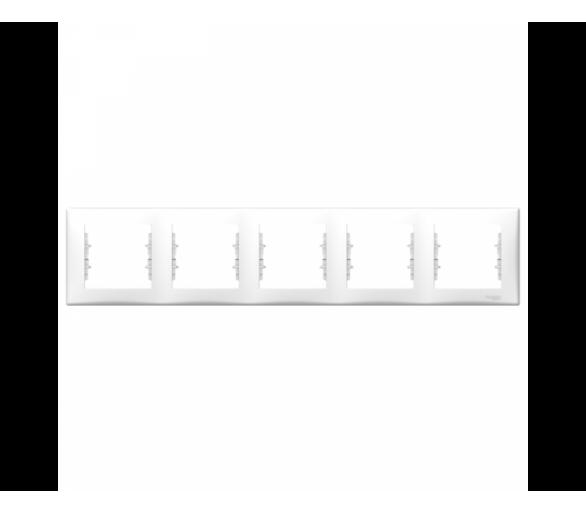 Ramka 5-krotna pozioma biały SDN5800921