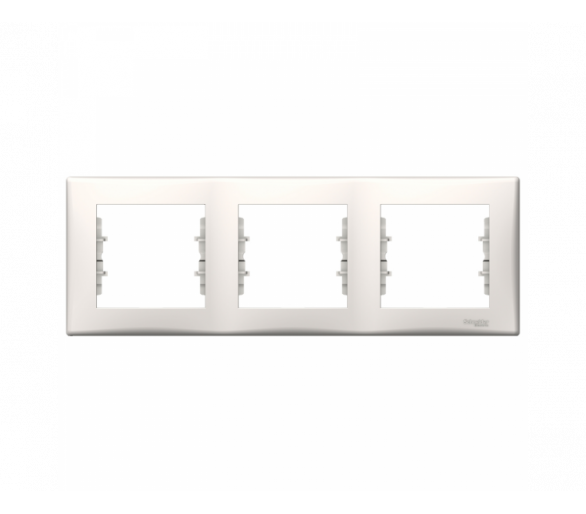 Ramka 3-krotna pozioma krem SDN5800523