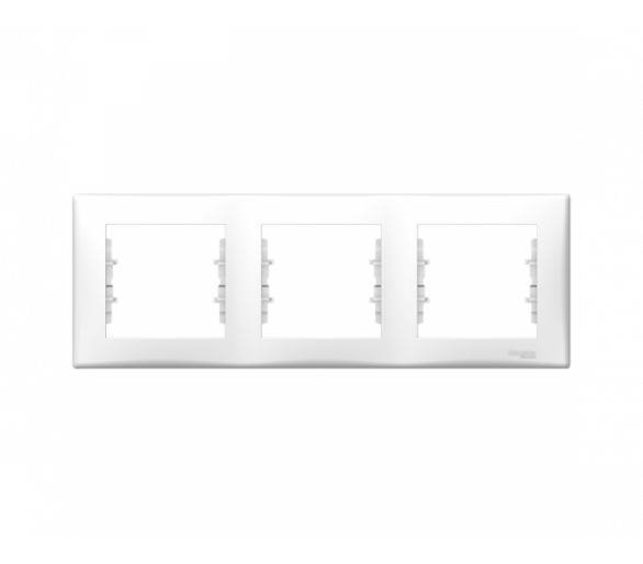 Ramka 3-krotna pozioma biały SDN5800521