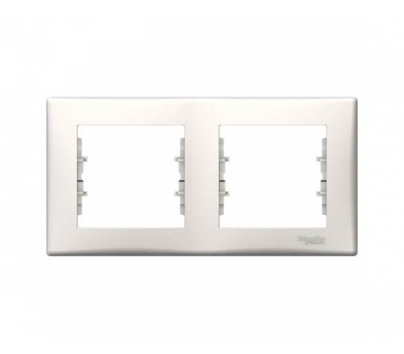 Ramka 2-krotna pozioma krem SDN5800323