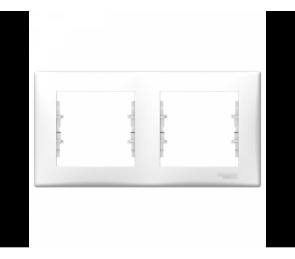 Ramka 2-krotna pozioma biały SDN5800321
