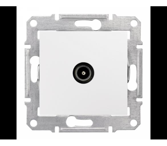 Gniazdo TV końcowe (1dB) biały SDN3201621