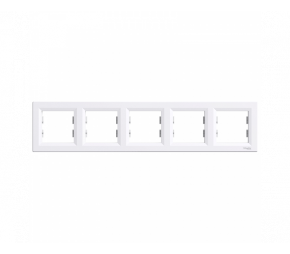 Ramka 5-krotna pozioma biały EPH5800521