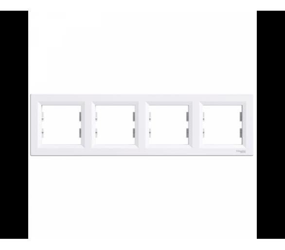 Ramka 4-krotna pozioma biały EPH5800421