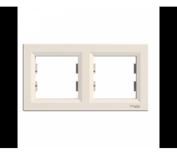Ramka 2-krotna pozioma krem EPH5800223