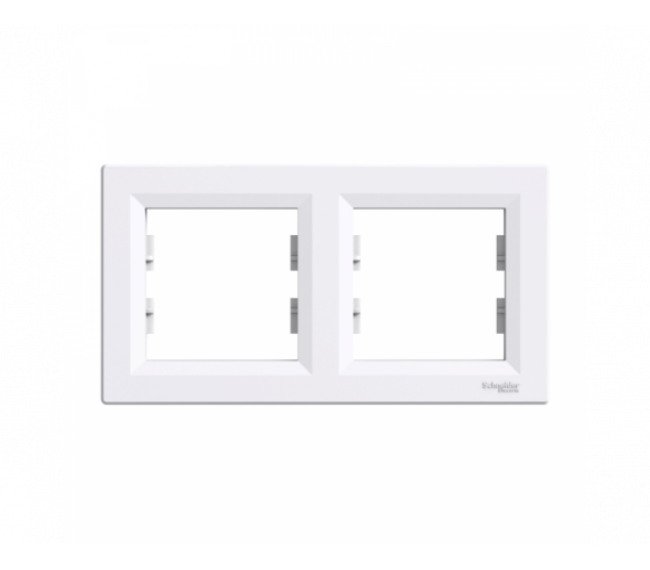 Ramka 2-krotna pozioma biały EPH5800221
