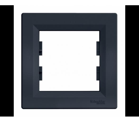 Ramka 1-krotna pozioma antracyt EPH5800171