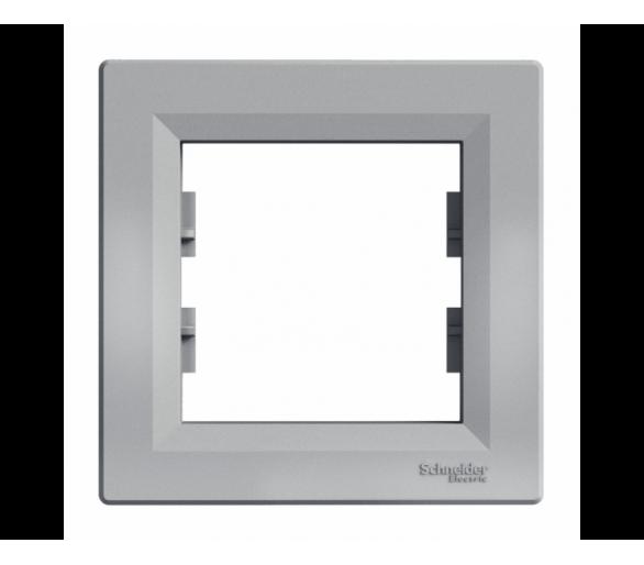 Ramka 1-krotna pozioma aluminium EPH5800161