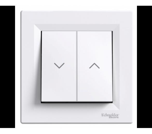 Przycisk żaluzjowy biały EPH1300121