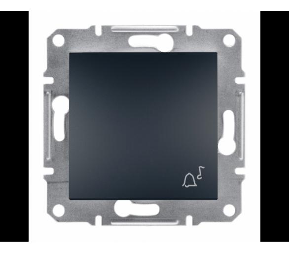 Przycisk dzwonek bez ramki antracyt EPH0800171
