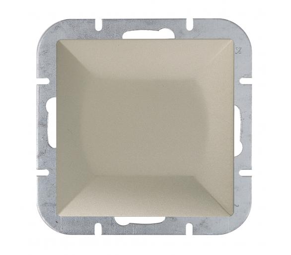 Wyłącznik klawiszowy instalacyjny p/t 10A, 250V, 1-biegunowy WP-1P satynowy