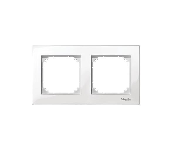 Ramka M-Plan podwójna biały polarny MTN515219
