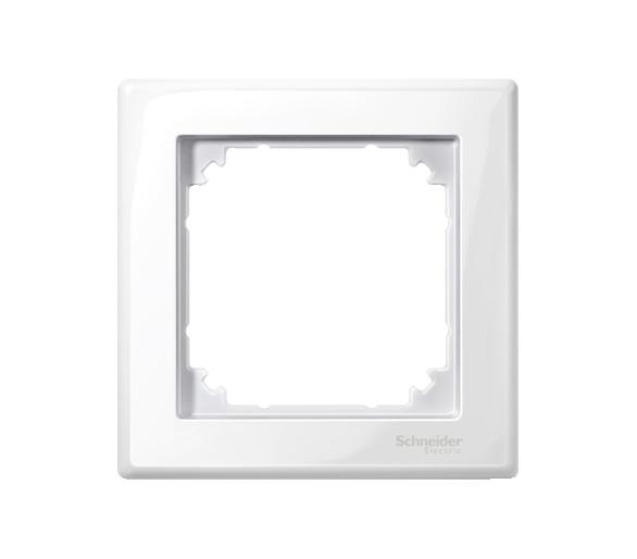Ramka M-Smart pojedyncza biały polarny MTN478119
