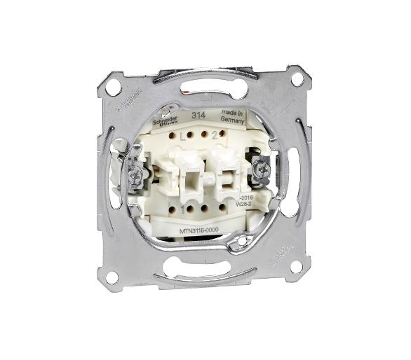 Mechanizm łącznika świecznikowego zacisk bezśrubowy 250VAC 10A MTN3115-0000