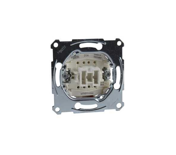 Mechanizm łącznika pojedynczego zacisk bezśrubowy 250VAC 10A MTN3111-0000