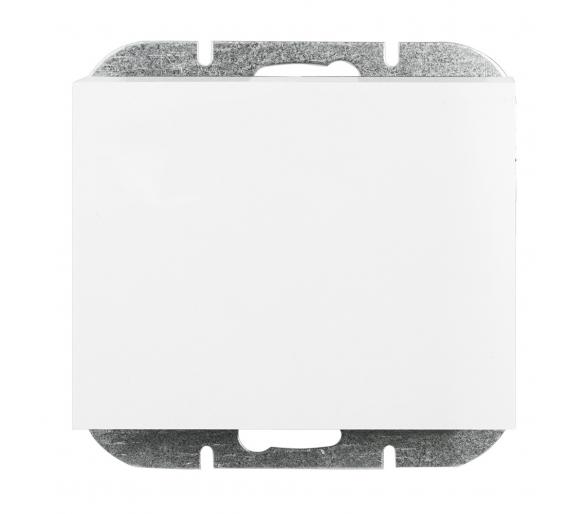 Wyłącznik klawiszowy instalacyjny p/t 10A, 250V, 1-biegunowy podświetlany WP-1N/S biały