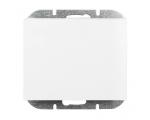 Wyłącznik klawiszowy instalacyjny p/t 10A, 250V, schodowy, podświetlany WP-5N/S biały