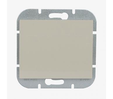Wyłącznik klawiszowy instalacyjny p/t 10A, 250V, schodowy, podświetlany WP-5N/S beżowy