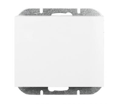 Wyłącznik klawiszowy zwierny p/t 10A, 250V światło, dzwonek (uniwersalny) WP-6/7N biały