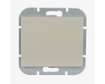 Wyłącznik klawiszowy zwierny p/t 10A, 250V światło, dzwonek (uniwersalny) WP-6/7N beżowy