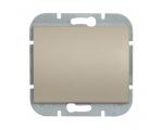Wyłącznik klawiszowy zwierny p/t 10A, 250V światło, dzwonek (uniwersalny) WP-6/7N satynowy